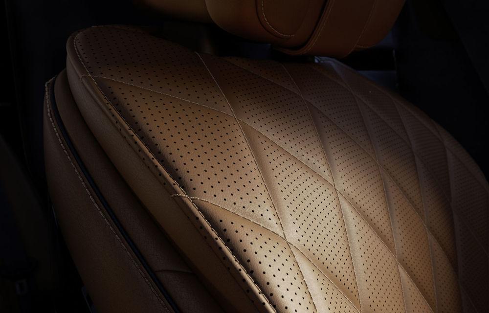 Detalii despre interiorul noii generații Mercedes-Benz Clasa S: sistemul de iluminare va oferi avertizări la activarea unor sisteme de asistență - Poza 11
