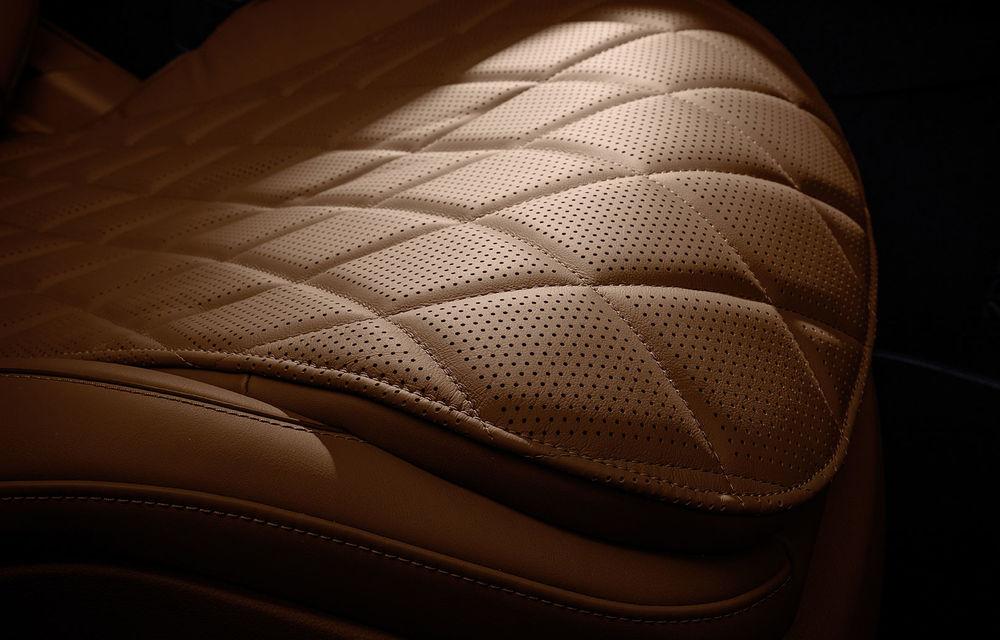 Detalii despre interiorul noii generații Mercedes-Benz Clasa S: sistemul de iluminare va oferi avertizări la activarea unor sisteme de asistență - Poza 8