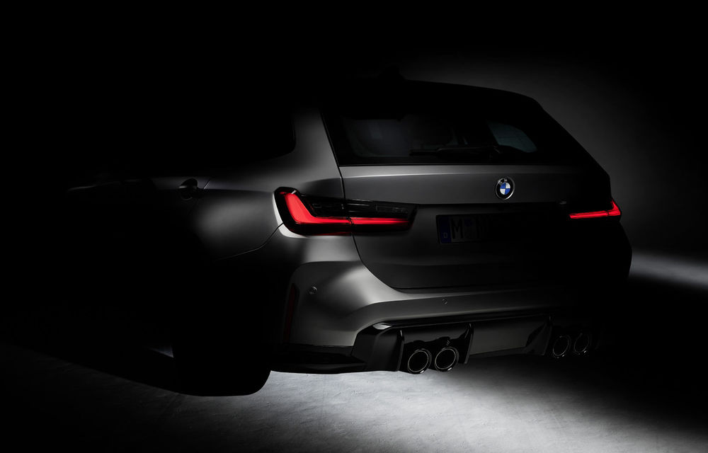 Prima schiță oficială cu viitorul BMW M3 Touring: nemții anunță startul testelor cu prototipurile break-ului de performanță - Poza 1