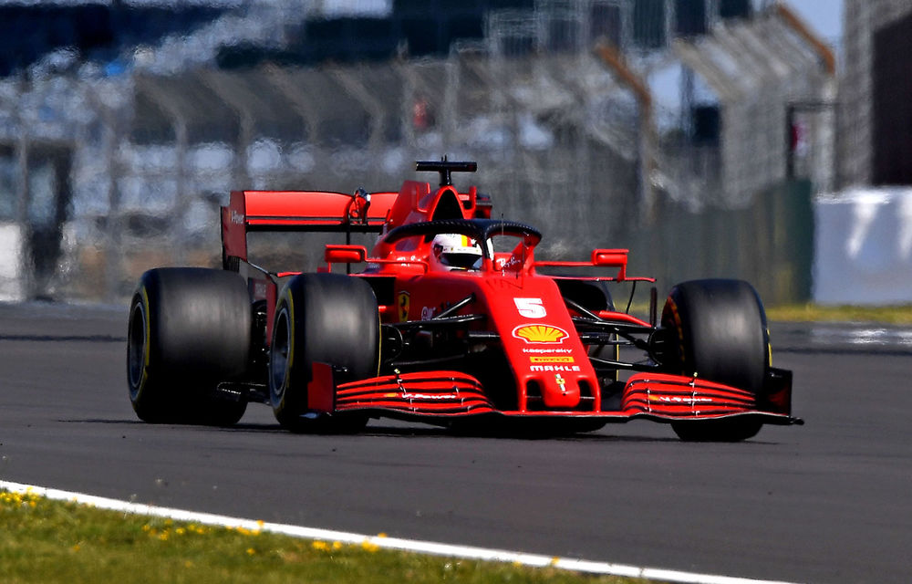 Ferrari a identificat o problemă tehnică la șasiul lui Vettel: germanul va primi un șasiu nou pentru cursa de la Barcelona - Poza 1