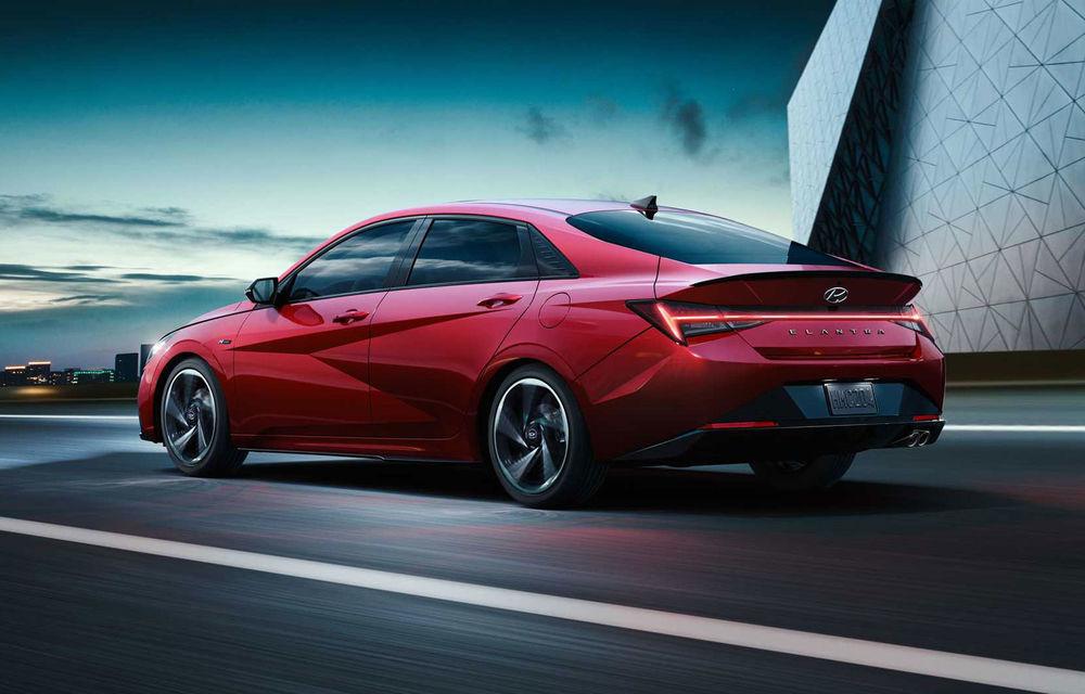 Informații noi despre Hyundai Elantra N-Line: sedanul are un motor turbo de 1.6 litri și 203 cai putere - Poza 4