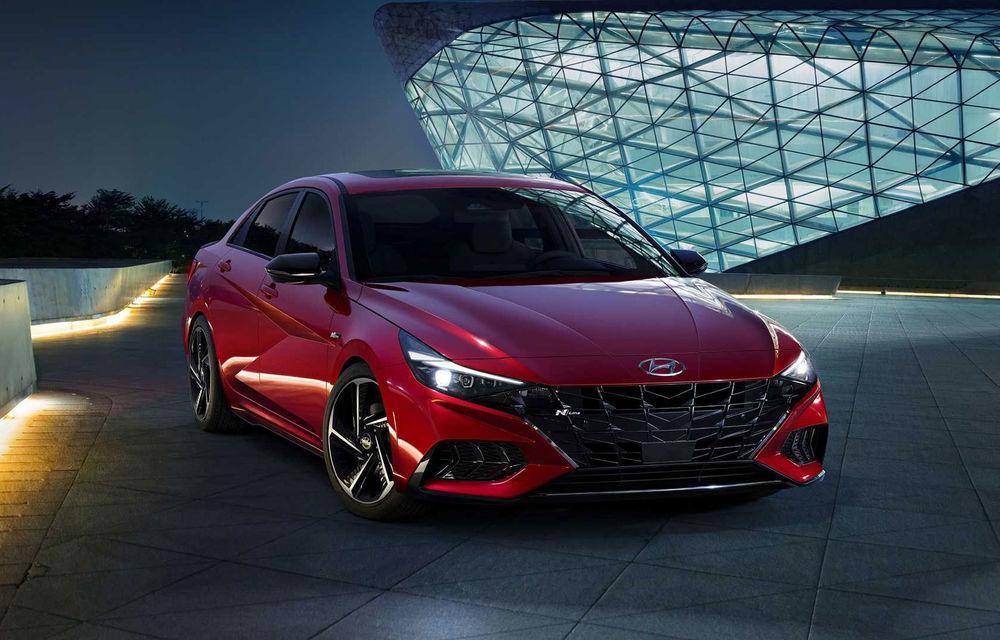 Informații noi despre Hyundai Elantra N-Line: sedanul are un motor turbo de 1.6 litri și 203 cai putere - Poza 1