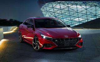 Informații noi despre Hyundai Elantra N-Line: sedanul are un motor turbo de 1.6 litri și 203 cai putere