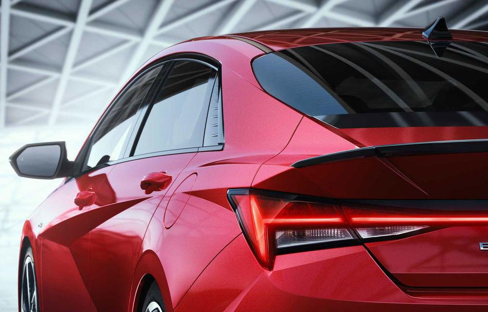Informații noi despre Hyundai Elantra N-Line: sedanul are un motor turbo de 1.6 litri și 203 cai putere - Poza 7
