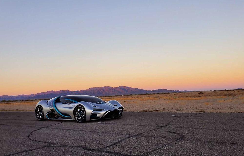 Hyperion XP-1: supercar electric alimentat cu hidrogen cu autonomie de peste 1.600 de kilometri - Poza 12