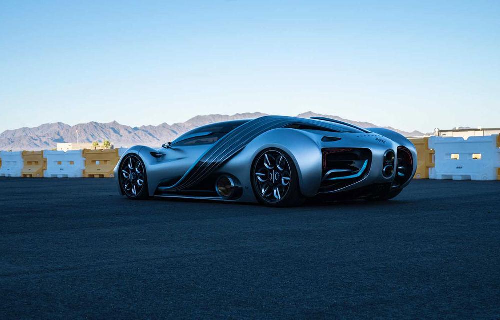 Hyperion XP-1: supercar electric alimentat cu hidrogen cu autonomie de peste 1.600 de kilometri - Poza 15