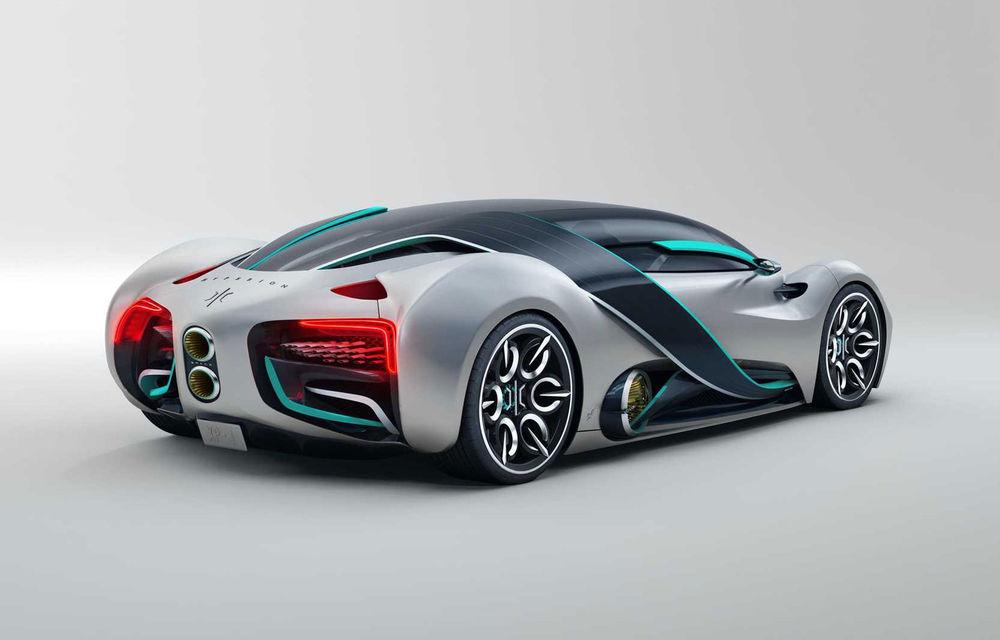 Hyperion XP-1: supercar electric alimentat cu hidrogen cu autonomie de peste 1.600 de kilometri - Poza 5