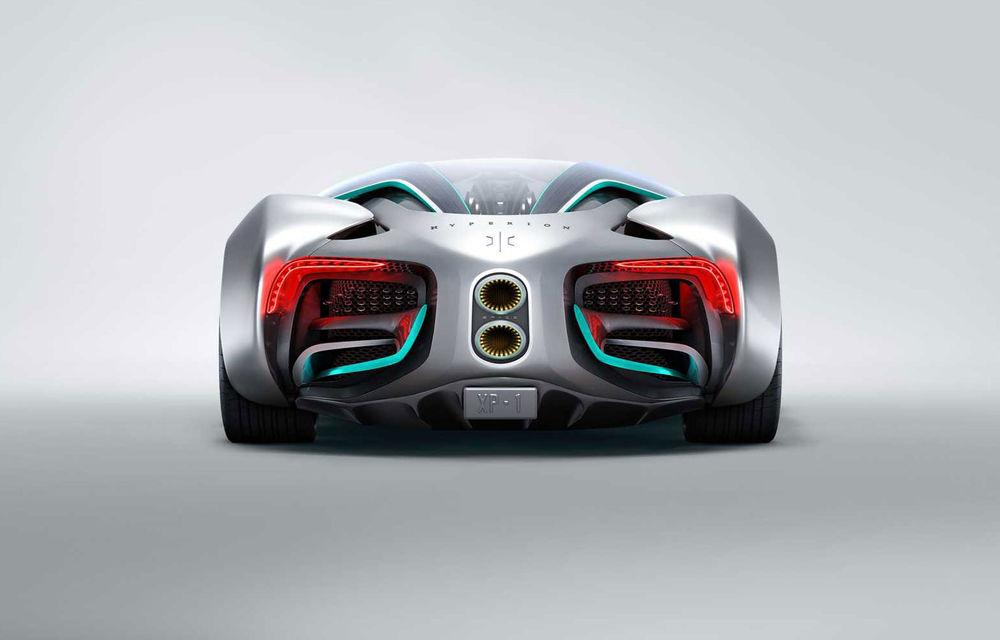 Hyperion XP-1: supercar electric alimentat cu hidrogen cu autonomie de peste 1.600 de kilometri - Poza 6