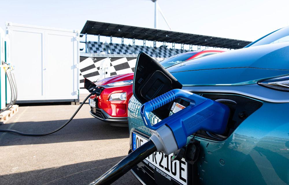 Record de autonomie pentru Hyundai Kona Electric: SUV-ul a parcurs 1.026 de kilometri pe un circuit de teste în condiții speciale - Poza 11