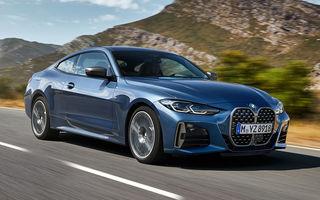 Prețuri BMW Seria 4 Coupe în România: noua generație are un preț de pornire de aproape 44.900 de euro
