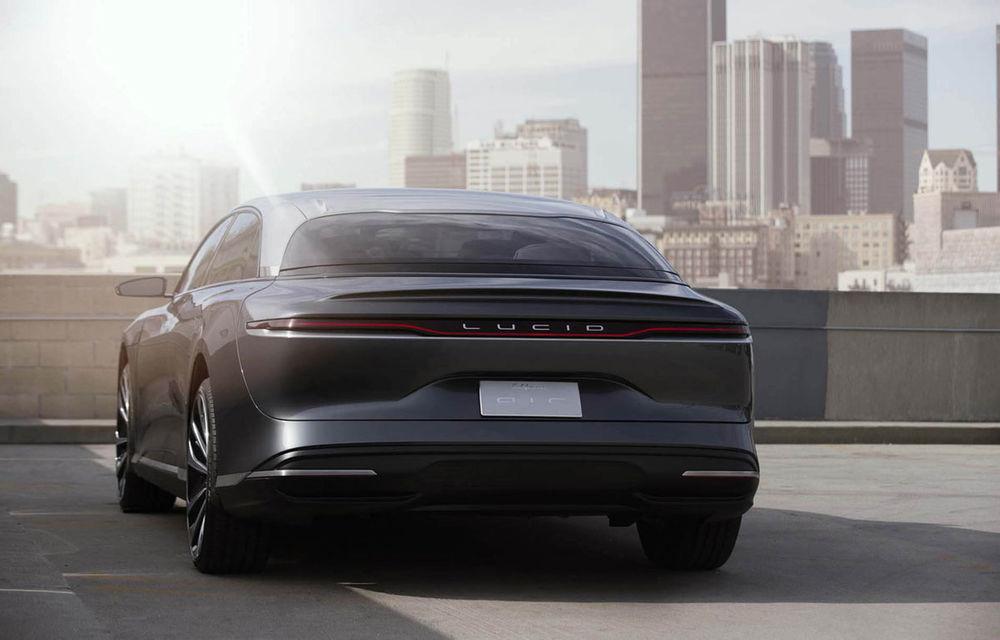 Constructorul american Lucid pregătește un SUV electric bazat pe platforma sedanului Lucid: producția va începe în 2023 - Poza 1