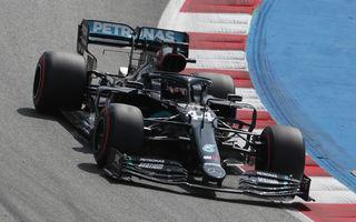 Hamilton, pole position la Barcelona în fața lui Bottas! Verstappen și Perez, în a doua linie a grilei de start