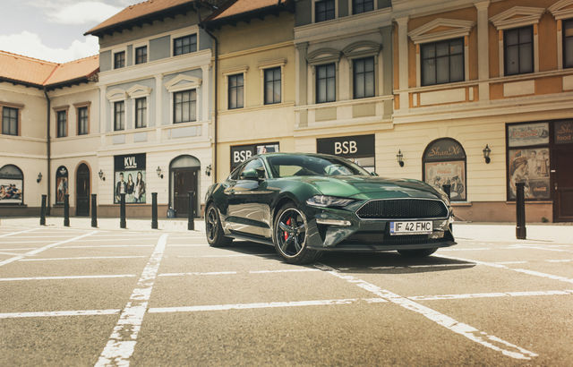 Test drive Ford Mustang Bullitt