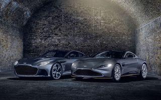 """Mașinile lui James Bond: Aston Martin a lansat ediția specială """"007"""" pentru Vantage și DBS Superleggera"""