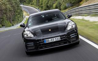Porsche publică înregistrarea video a recordului stabilit de Panamera facelift pe Nurburgring: prezentarea oficială va avea loc în 26 august