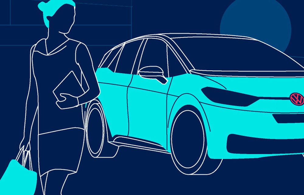 Teasere noi cu Volkswagen ID.4: SUV-ul electric cu autonomie de 500 de kilometri va fi prezentat peste câteva săptămâni - Poza 2