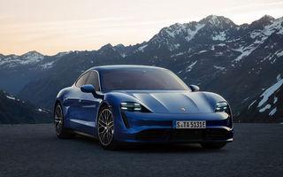 Îmbunătățiri pentru Porsche Taycan: încărcare la curent alternativ cu 22 kW, un nou Head-up Display și sisteme de asistență cu abonament lunar