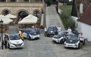 Competiția Transylvania Classic are loc la Sibiu în perioada 20-22 august: 25 de mașini electrice la start