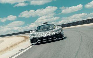 Mercedes-AMG Project One, mai aproape de producție: hypercarul a început testele pe circuit