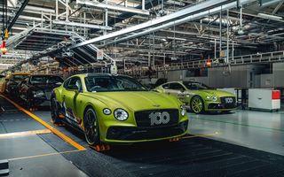Bentley a început producția seriei limitate Continental GT Pikes Peak: cele 15 exemplare au fost deja vândute