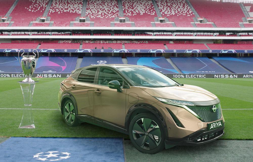 Nissan pregătește un eveniment special: 50 de proprietari Leaf vor urmări finala Ligii Campionilor la un cinema drive-in din Lisabona - Poza 1