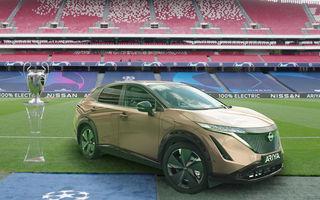 Nissan pregătește un eveniment special: 50 de proprietari Leaf vor urmări finala Ligii Campionilor la un cinema drive-in din Lisabona