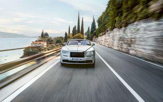 Primele imagini oficiale cu Rolls-Royce Dawn Silver Bullet: producție limitată la 50 de exemplare