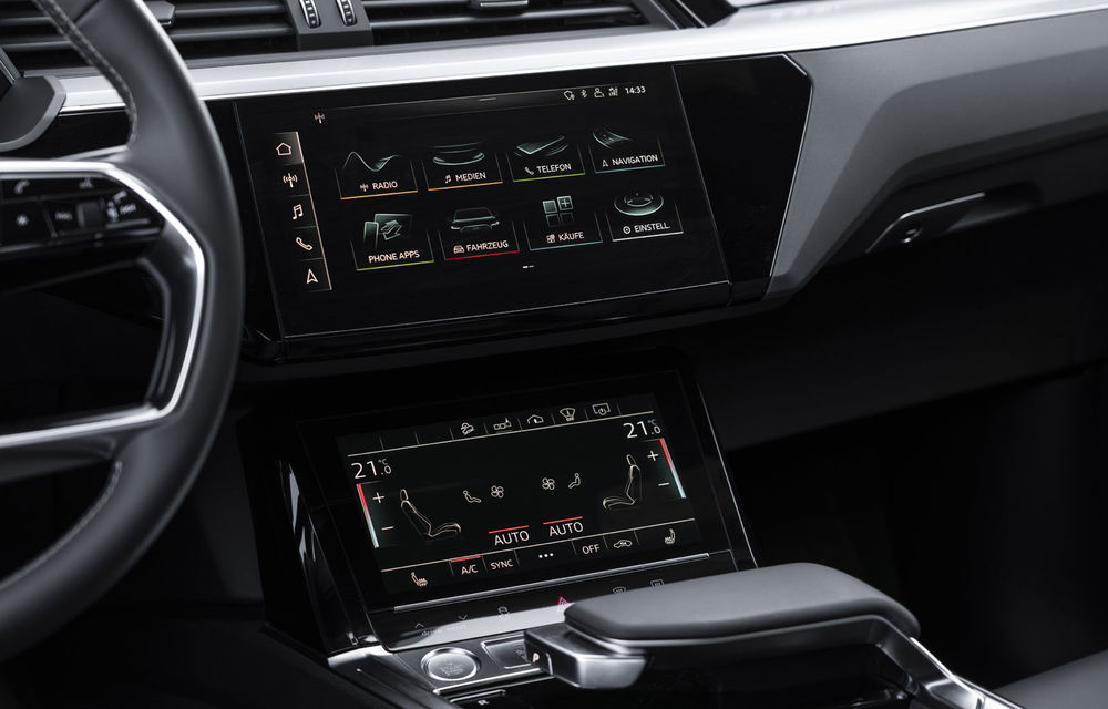 Facem cunoștință cu mașinile din #ElectricRomânia 2020: Audi e-tron Sportback, un SUV-coupé electric performant cu tehnologii de ultima generație - Poza 35