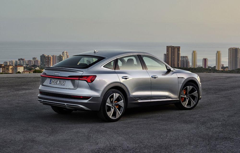 Facem cunoștință cu mașinile din #ElectricRomânia 2020: Audi e-tron Sportback, un SUV-coupé electric performant cu tehnologii de ultima generație - Poza 31