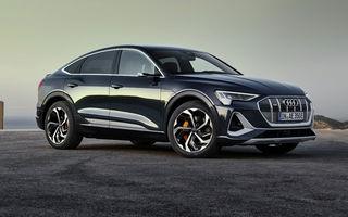 Facem cunoștință cu mașinile din #ElectricRomânia 2020: Audi e-tron Sportback, un SUV-coupé electric performant cu tehnologii de ultima generație