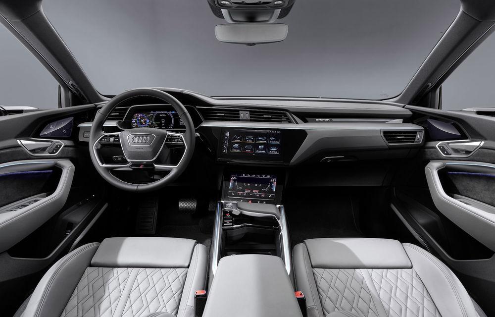 Facem cunoștință cu mașinile din #ElectricRomânia 2020: Audi e-tron Sportback, un SUV-coupé electric performant cu tehnologii de ultima generație - Poza 40