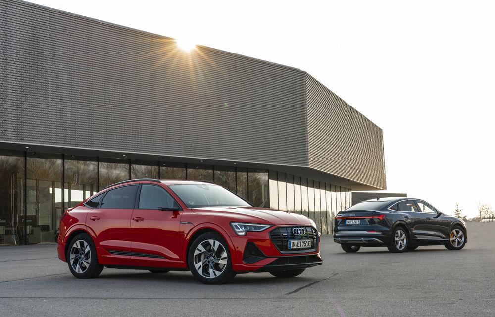 Facem cunoștință cu mașinile din #ElectricRomânia 2020: Audi e-tron Sportback, un SUV-coupé electric performant cu tehnologii de ultima generație - Poza 9