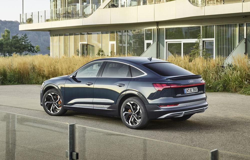 Facem cunoștință cu mașinile din #ElectricRomânia 2020: Audi e-tron Sportback, un SUV-coupé electric performant cu tehnologii de ultima generație - Poza 21