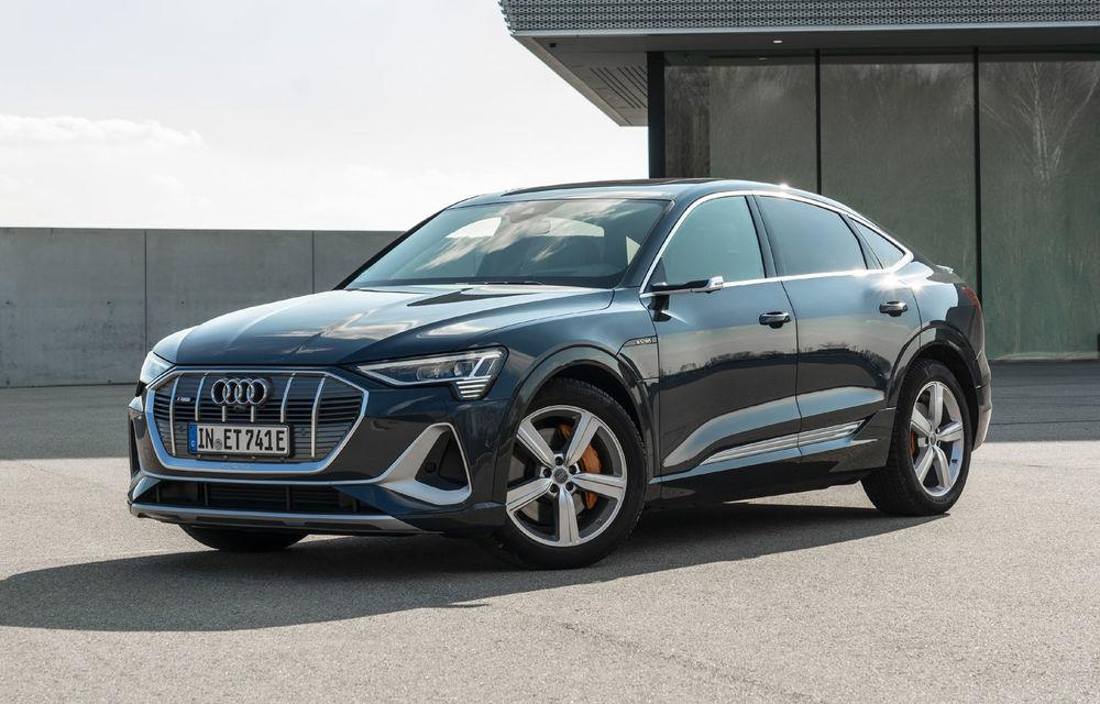 Facem cunoștință cu mașinile din #ElectricRomânia 2020: Audi e-tron Sportback, un SUV-coupé electric performant cu tehnologii de ultima generație - Poza 12