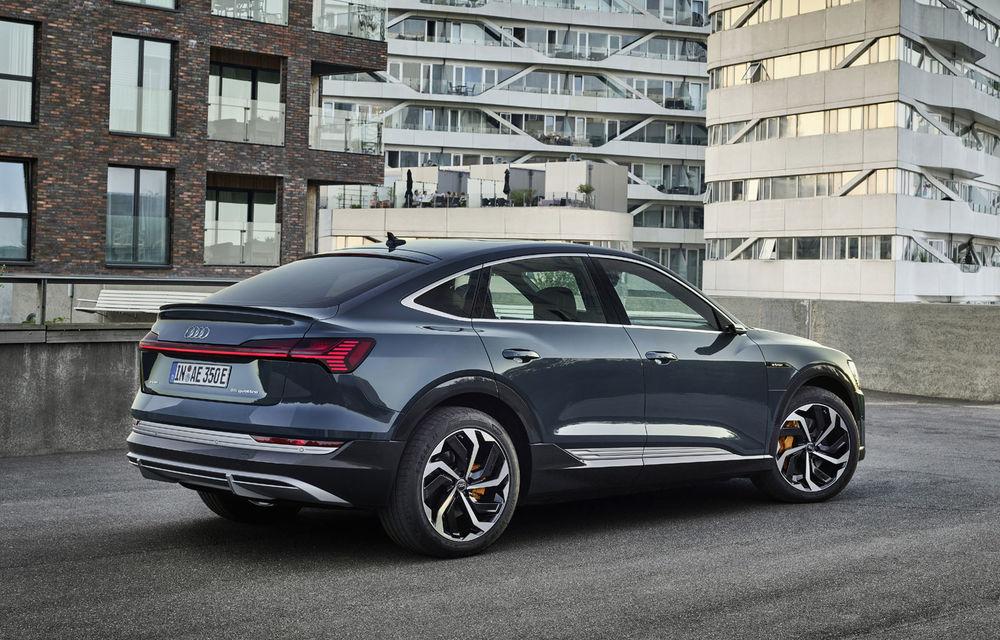 Facem cunoștință cu mașinile din #ElectricRomânia 2020: Audi e-tron Sportback, un SUV-coupé electric performant cu tehnologii de ultima generație - Poza 23