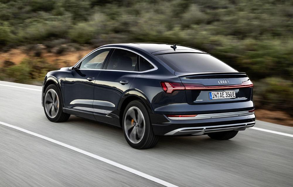 Facem cunoștință cu mașinile din #ElectricRomânia 2020: Audi e-tron Sportback, un SUV-coupé electric performant cu tehnologii de ultima generație - Poza 15