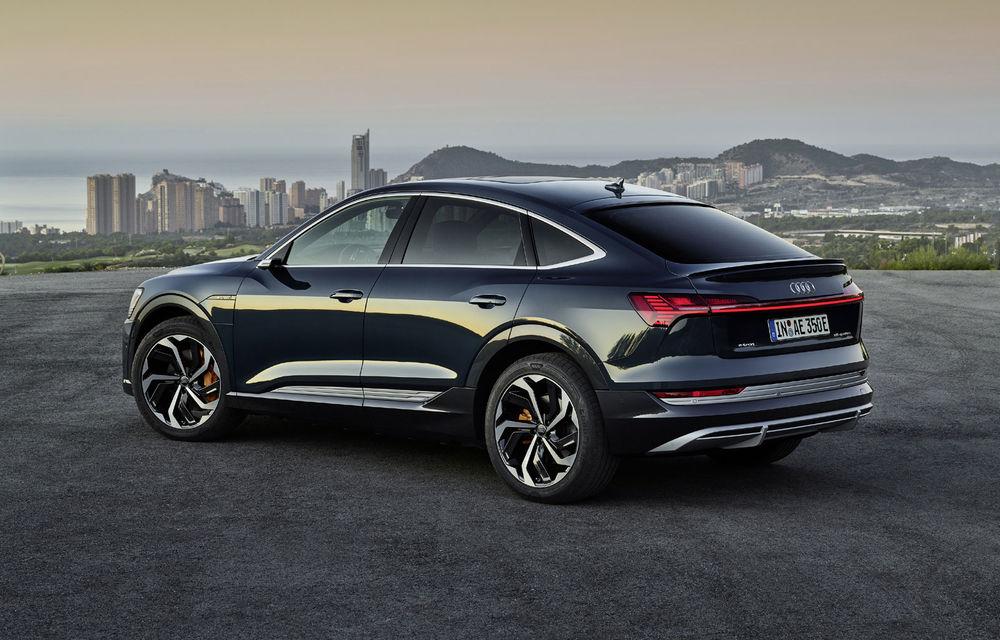 Facem cunoștință cu mașinile din #ElectricRomânia 2020: Audi e-tron Sportback, un SUV-coupé electric performant cu tehnologii de ultima generație - Poza 17