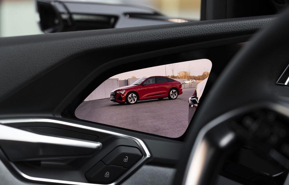 Facem cunoștință cu mașinile din #ElectricRomânia 2020: Audi e-tron Sportback, un SUV-coupé electric performant cu tehnologii de ultima generație - Poza 39
