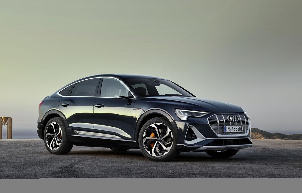 Facem cunoștință cu mașinile din #ElectricRomânia 2020: Audi e-tron Sportback, un SUV-coupé electric performant cu tehnologii de ultima generație - Poza 16