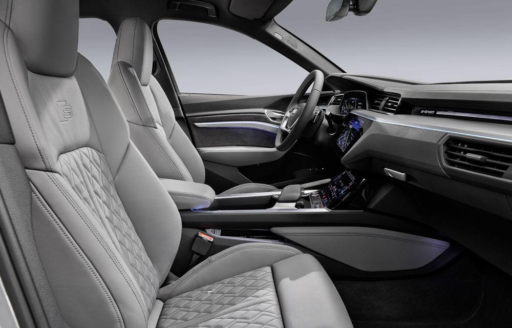 Facem cunoștință cu mașinile din #ElectricRomânia 2020: Audi e-tron Sportback, un SUV-coupé electric performant cu tehnologii de ultima generație - Poza 38