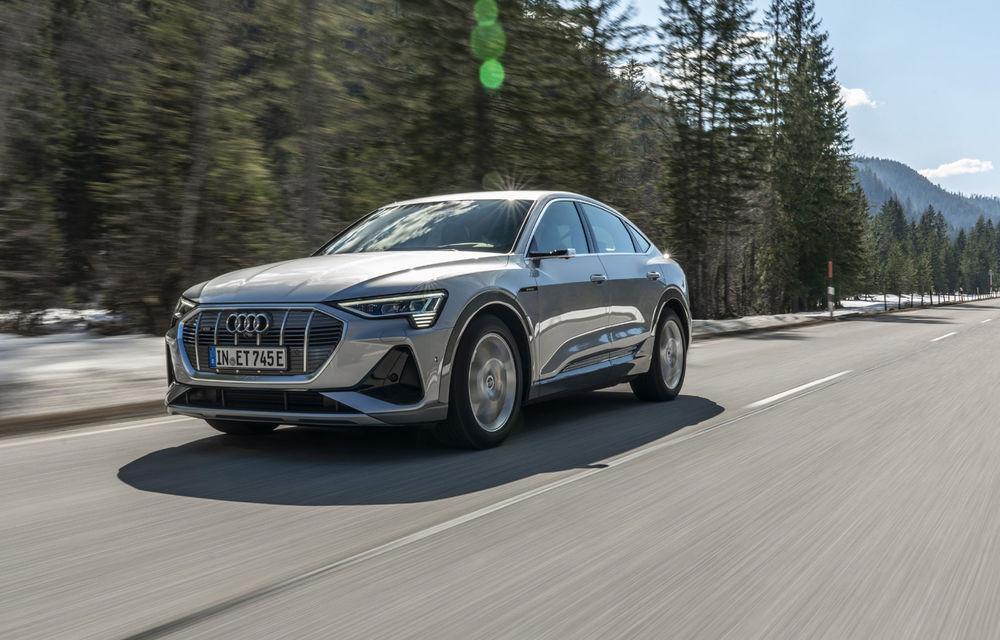 Facem cunoștință cu mașinile din #ElectricRomânia 2020: Audi e-tron Sportback, un SUV-coupé electric performant cu tehnologii de ultima generație - Poza 3
