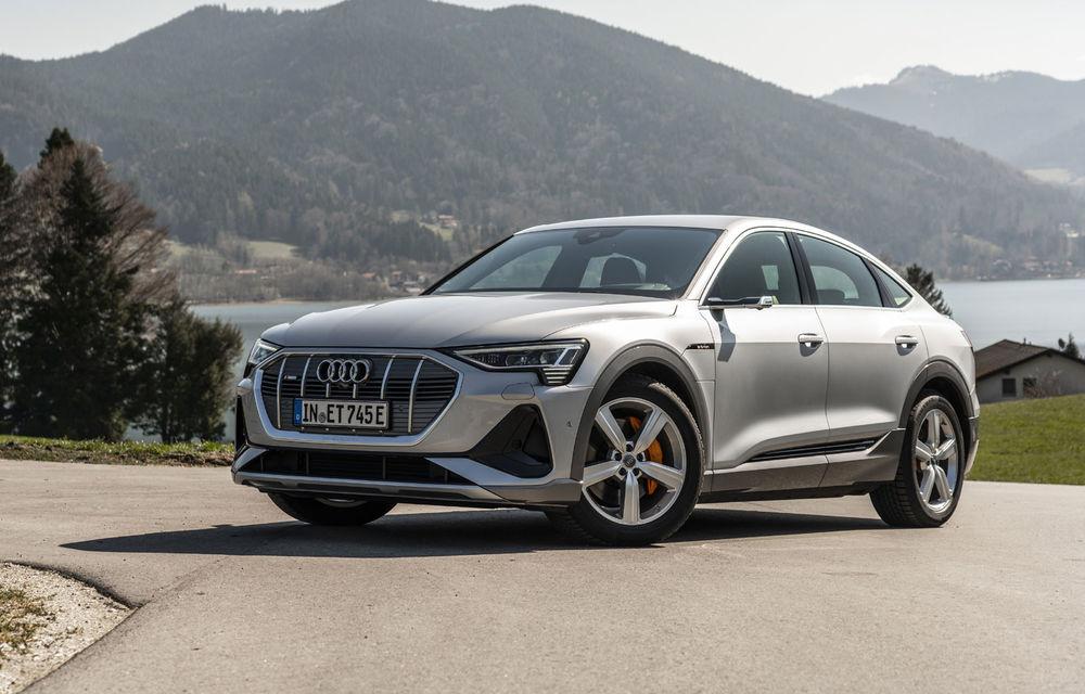 Facem cunoștință cu mașinile din #ElectricRomânia 2020: Audi e-tron Sportback, un SUV-coupé electric performant cu tehnologii de ultima generație - Poza 4