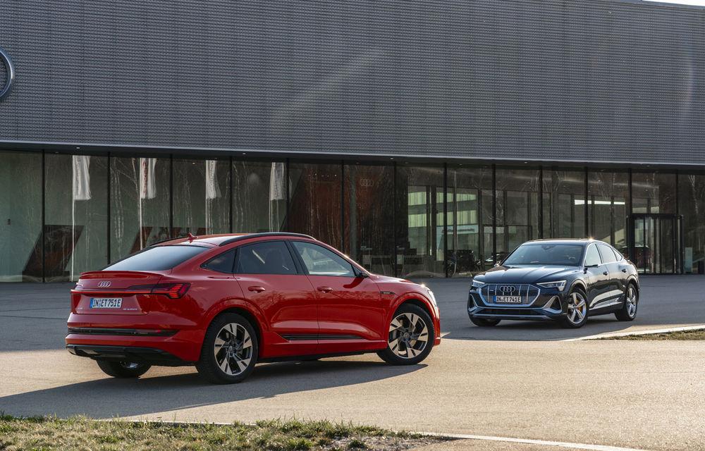 Facem cunoștință cu mașinile din #ElectricRomânia 2020: Audi e-tron Sportback, un SUV-coupé electric performant cu tehnologii de ultima generație - Poza 7