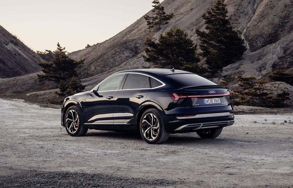 Facem cunoștință cu mașinile din #ElectricRomânia 2020: Audi e-tron Sportback, un SUV-coupé electric performant cu tehnologii de ultima generație - Poza 24