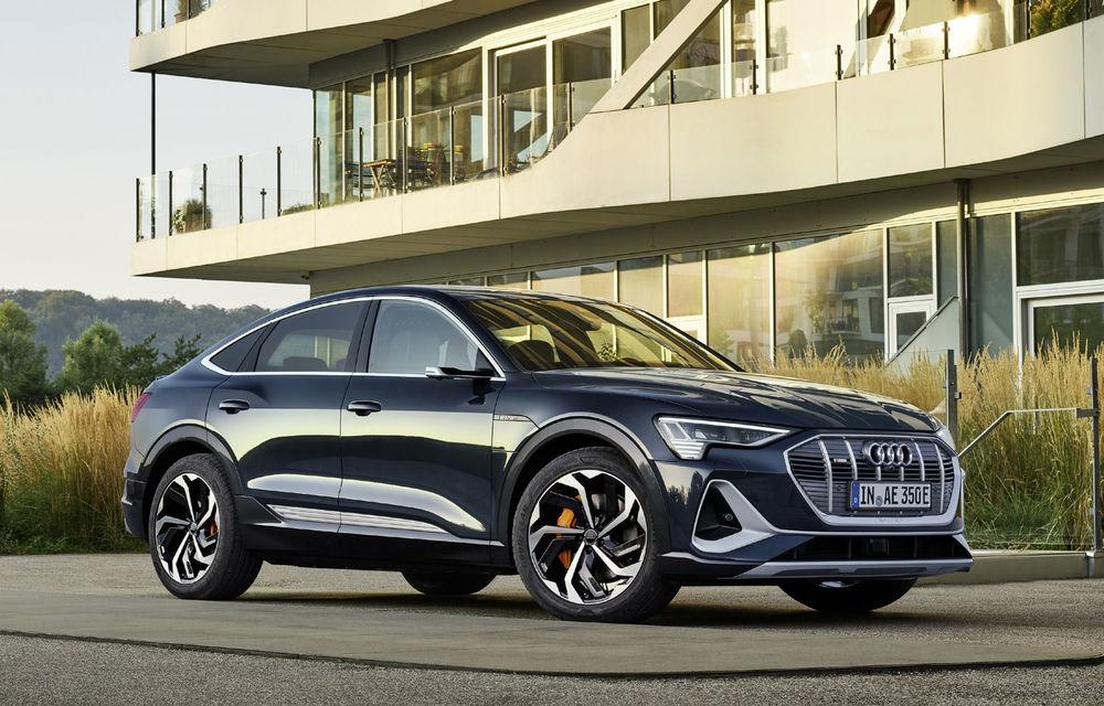 Facem cunoștință cu mașinile din #ElectricRomânia 2020: Audi e-tron Sportback, un SUV-coupé electric performant cu tehnologii de ultima generație - Poza 22