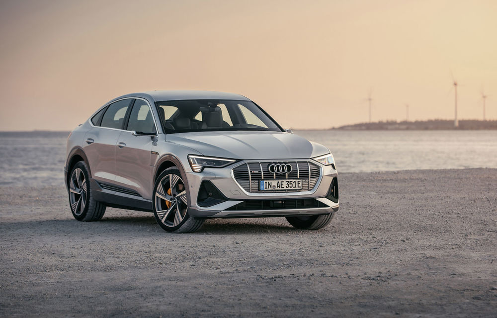 Facem cunoștință cu mașinile din #ElectricRomânia 2020: Audi e-tron Sportback, un SUV-coupé electric performant cu tehnologii de ultima generație - Poza 26