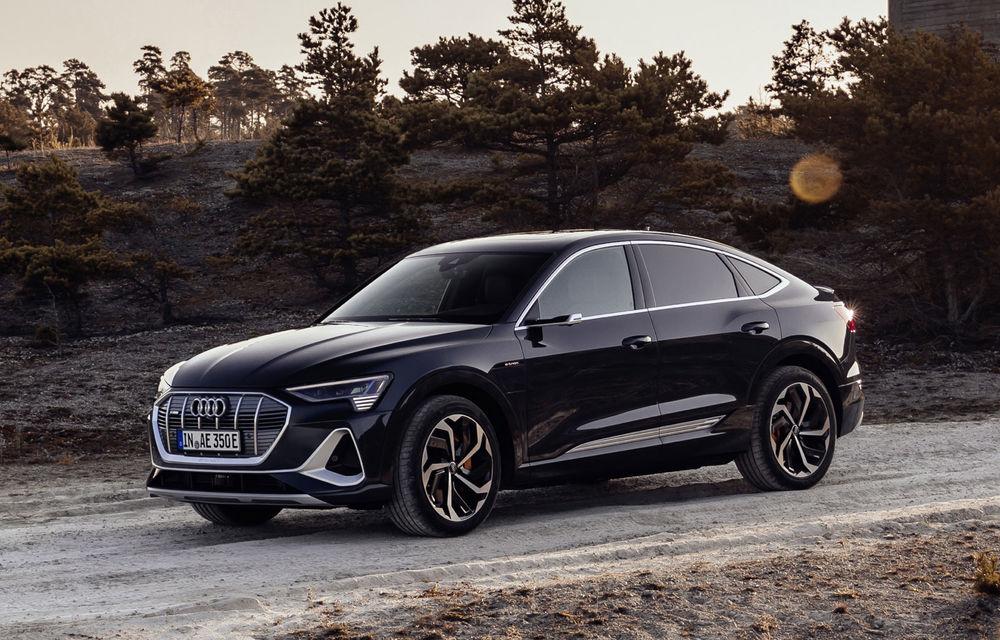 Facem cunoștință cu mașinile din #ElectricRomânia 2020: Audi e-tron Sportback, un SUV-coupé electric performant cu tehnologii de ultima generație - Poza 25