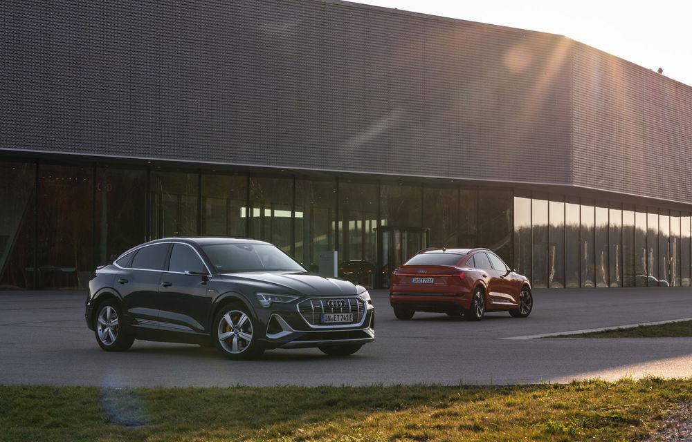 Facem cunoștință cu mașinile din #ElectricRomânia 2020: Audi e-tron Sportback, un SUV-coupé electric performant cu tehnologii de ultima generație - Poza 6