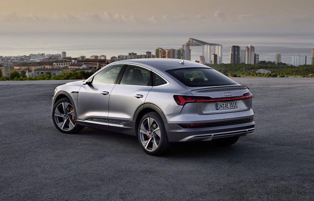 Facem cunoștință cu mașinile din #ElectricRomânia 2020: Audi e-tron Sportback, un SUV-coupé electric performant cu tehnologii de ultima generație - Poza 29