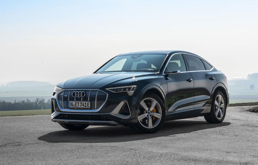 Facem cunoștință cu mașinile din #ElectricRomânia 2020: Audi e-tron Sportback, un SUV-coupé electric performant cu tehnologii de ultima generație - Poza 10